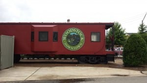 Unlocking train cars in Woodstock, Ga
