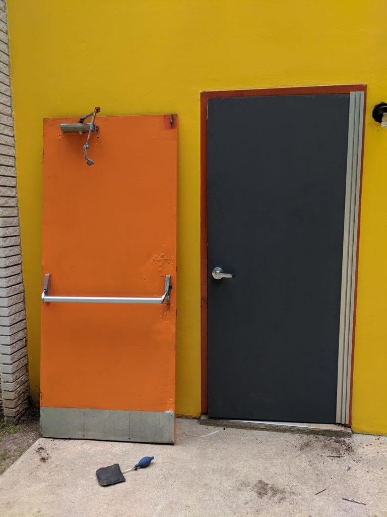 Installed A Few Hollow Steel Doors In Cartersville